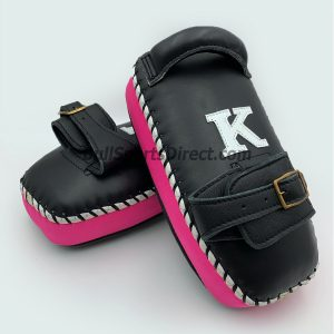 K-Kick Pads-Single Strap-Black Pink