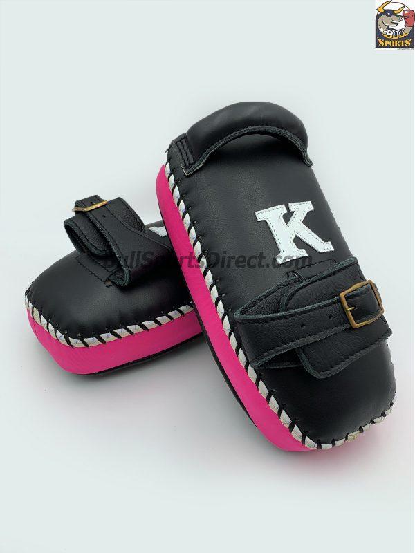 K-Kick Pads-Single Strap-Black Pink