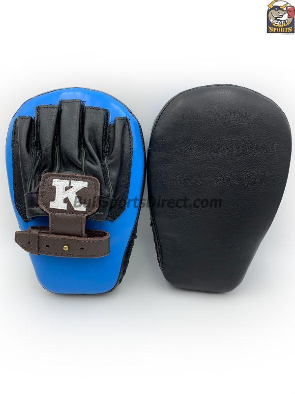 K-Focus Mitts-Large-Black/Light Blue