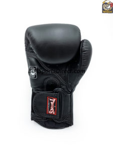 BGVL6 Twins Black Sparring Gloves