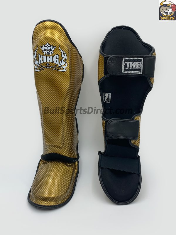 Top King Muay Thai Shin Pads Empower2