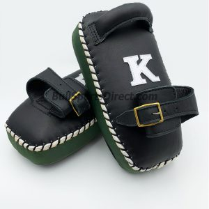 K-Kick Pads-Single Strap-Black Green