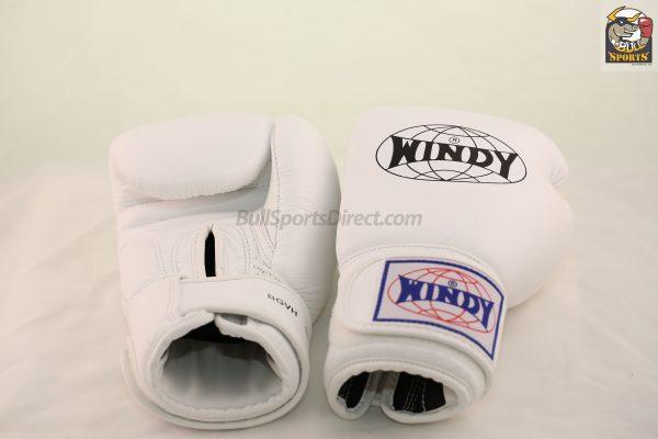 Windy Muay Thai Boxing Gloves White BGVH