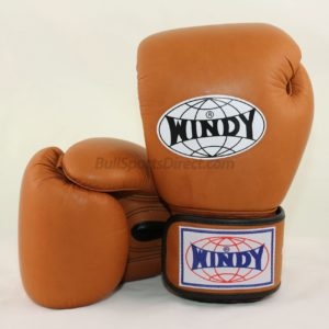 Windy Muay Thai Boxing Gloves BGVH Brown
