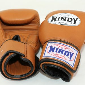 Windy Muay Thai Brown Gloves BGVH