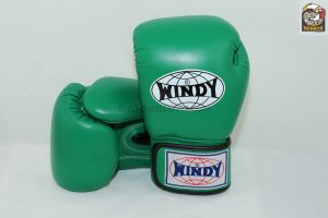 Windy Muay Thai Green Boxing Gloves BGVH