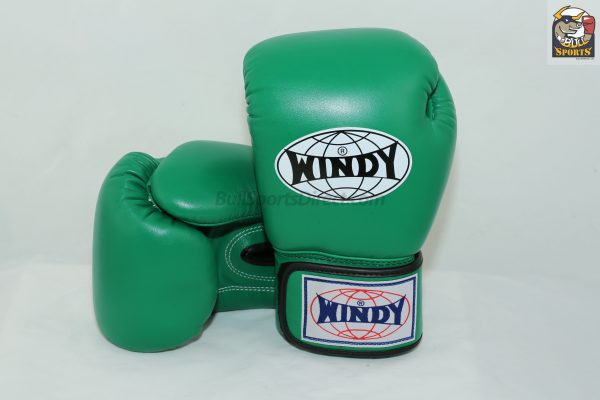 Windy Muay Thai Green Boxing Gloves BGVH