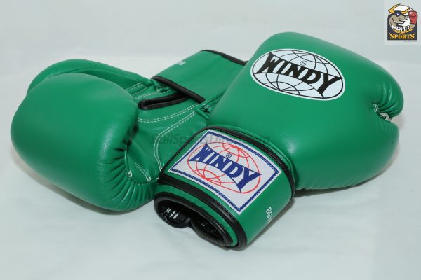 Windy Muay Thai Boxing Gloves BGVH Green