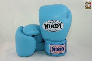 Windy Muay Thai Boxing Gloves BGVH Light Blue