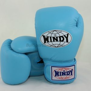 Windy Muay Thai Boxing Gloves BGVH Light Blue