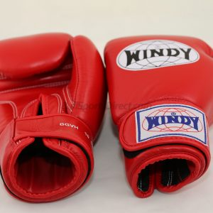 Windy Muay Thai Red Boxing Gloves BGVH