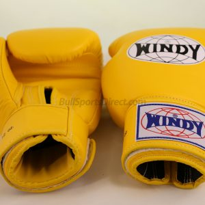 Windy Muay Thai Boxing Gloves Yellow BGVH