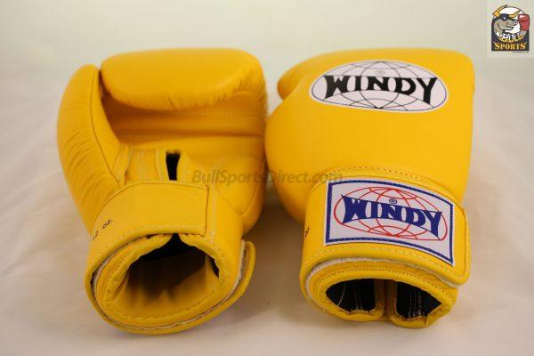 Windy Muay Thai Boxing Gloves Yellow BGVH