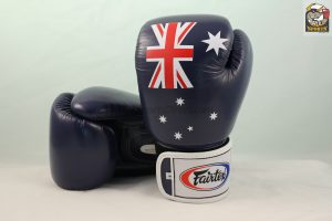 Fairtex Australian Flag Aussie Pride Boxing Gloves BGV1
