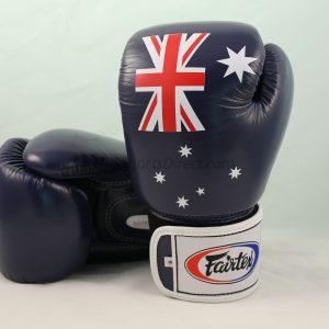 Fairtex Australian Flag Aussie Pride Boxing Gloves BGV1