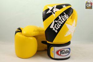Fairtex BGV1 Nation Universal Yellow Muay Thai Gloves