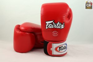 Fairtex BGV1 Red Breathable Boxing Gloves