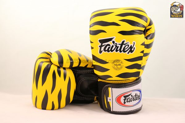 Fairtex BGV1 Fancy Wild Animal Tiger Boxing Gloves