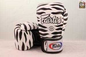 Fairtex Gloves BGV1 Zebra White