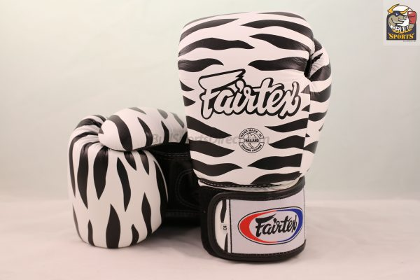 Fairtex Gloves BGV1 Zebra White