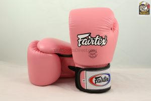 Fairtex BGV1 Tight Fit Boxing Gloves Pink
