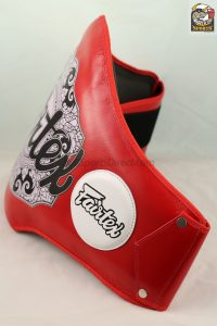 Fairtex Belly Pad Red-BPV2