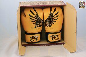 Fairtex BGV1 Falcon Leather Boxing Gloves - Tight Fit Design