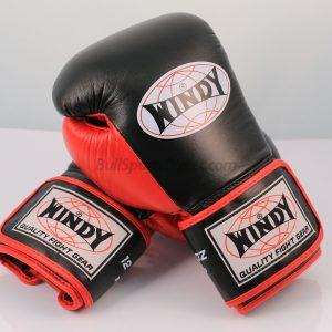Windy Sports Boxing Gloves BGP Proline Black Red