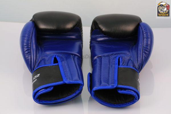 Windy Black Blue Boxing Gloves - Pro Line