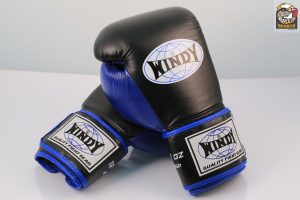 Windy Black Blue Boxing Gloves Proline