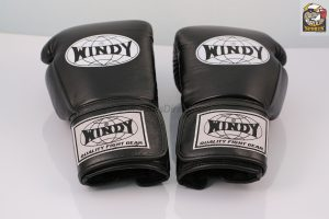 Windy Boxing Gloves Proline Black