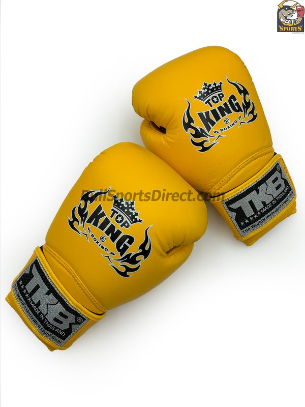 Top King Boxing Gloves Air Yellow