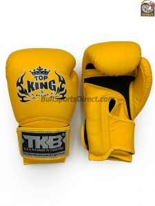 Yellow Top King Boxing Gloves Super Air