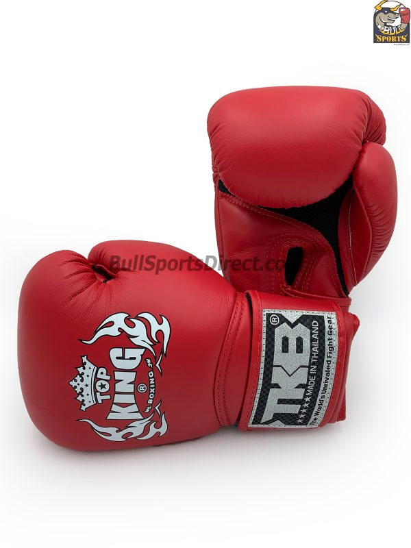 Top King Boxing Gloves Air Red