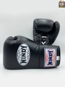Windy Boxing Gloves Lace Up (BGL) Black