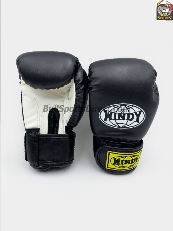 Windy Muay Thai Boxing Gloves BGVH+K Black