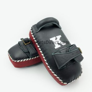 K Kick Pads – Single Strap-Black Burgundy