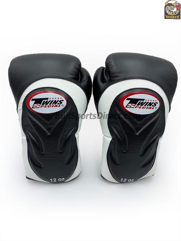 Twins Boxing Gloves BGVL6 Black White
