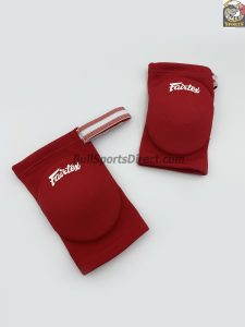 Fairtex Elastic Elbow Pads-Red