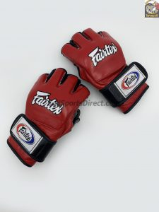 FGV13 Fairtex MMA Red Ultimate Combat Enclosed Thumb Gloves