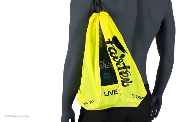 Yellow Sach Bag- Fairtex BAG6
