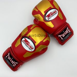 Twins Boxing Gloves-FBGV-46-Transformer Gold-Red
