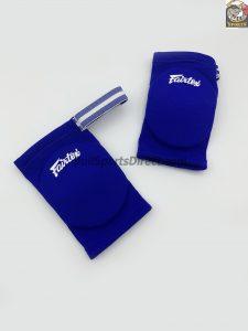 Blue Elastic Elbow Pads-EBE1-Fairtex