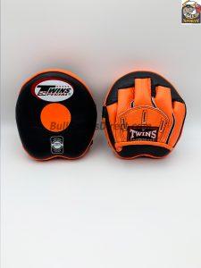 Twins-PML-13 Punching Mitts-Black/Orange