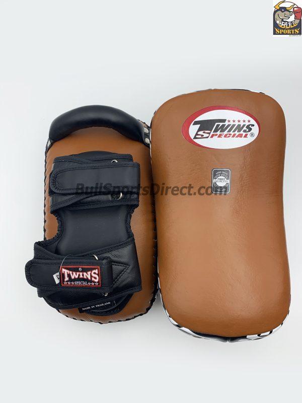 Twins-KPL-12 Kicking Pads Brown Black
