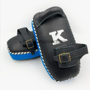 K-Kick Pads- Single Strap-Black Light Blue
