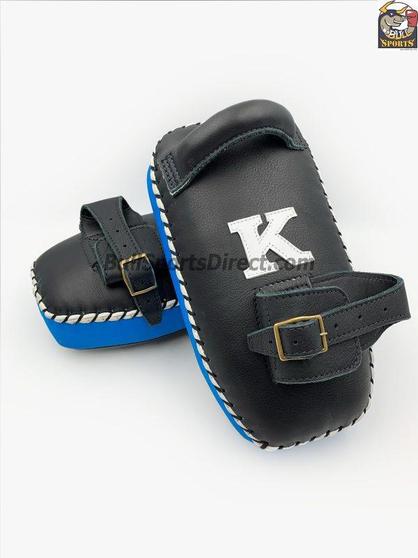 K-Kick Pads- Single Strap-Black Light Blue