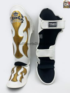Behind Top King Pro Muay Thai Shin Pads Empower01
