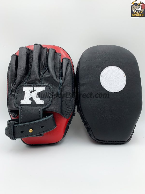 K-Focus Mitts-Small Black/Red