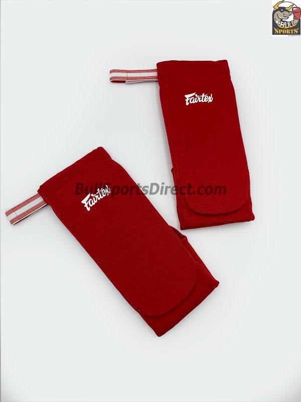 Elastic Shin Pads-SPE1 Red